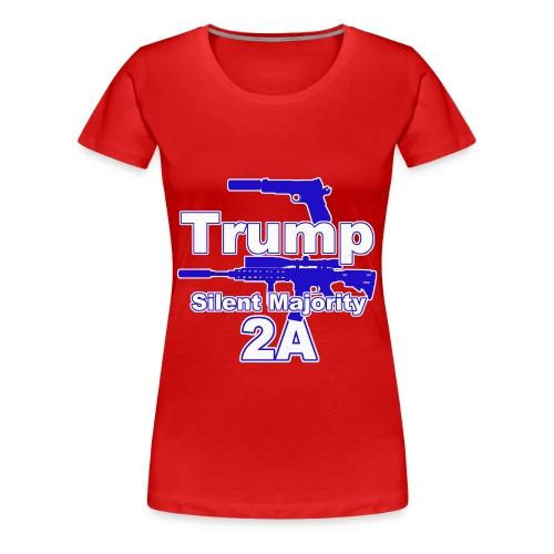 Silent Majority 2a,, - Women's Premium T-Shirt