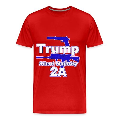 Silent Majority 2a,, - Men's Premium T-Shirt