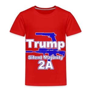 Silent Majority 2a,, - Toddler Premium T-Shirt