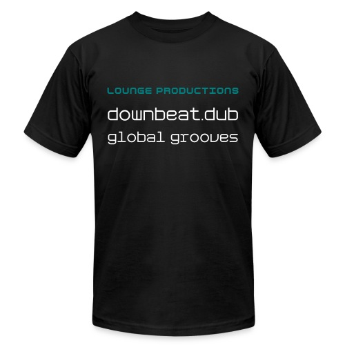 Lounge Productions Downtempo - Men's Cotton T-Shirt - Men's  Jersey T-Shirt