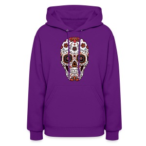 Sugar Skull - Day of the Dead #7 - Women's Hoodie