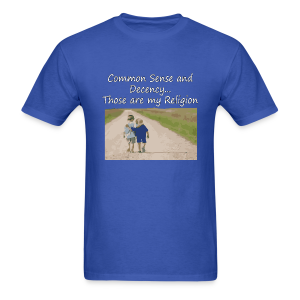 Common Sense is my Religion (men's products) - Men's T-Shirt