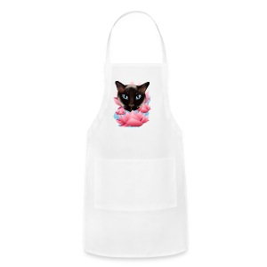 Cat From The Land of Lotus - Adjustable Apron