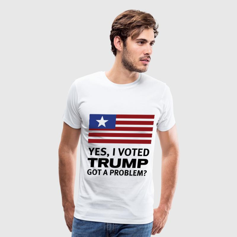YES I VOTED TRUMP! - Men's Premium T-Shirt