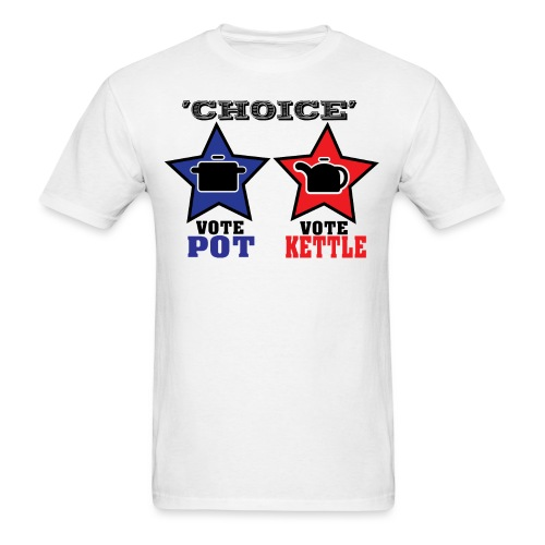 The Illusion of Choice in Politics - Men's T-Shirt