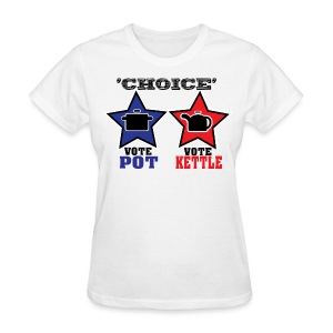 The Illusion of Choice in Politics - Women's T-Shirt