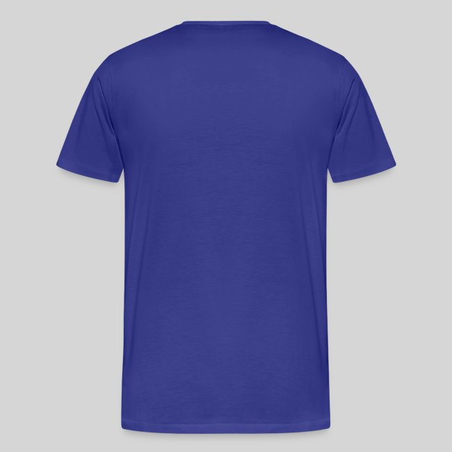 Ethanol (Alcohol seen drunk) Molecule | Men's Premium T-Shirt