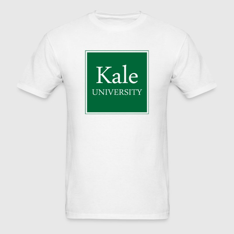 Kale University - Men's T-Shirt