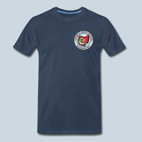 Premium COMI 41 Color Club Logo - Men's Premium T-Shirt