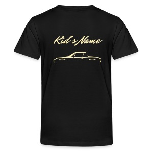 Kid's Name on the back - Kids' Premium T-Shirt