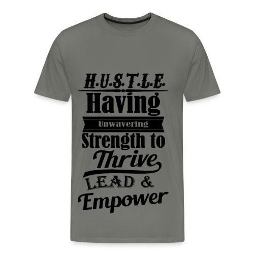 Definition of a Hustler T-Shirt - Men's Premium T-Shirt