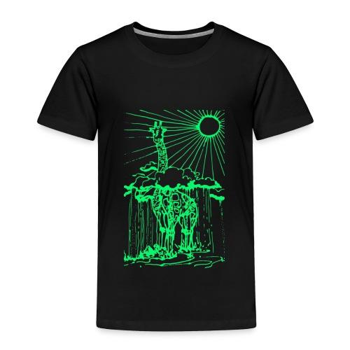Sunshine day giraffe  - Toddler Premium T-Shirt