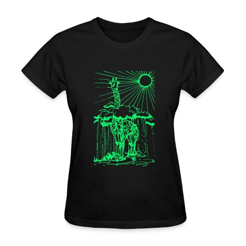 Sunshine day giraffe  - Women's T-Shirt