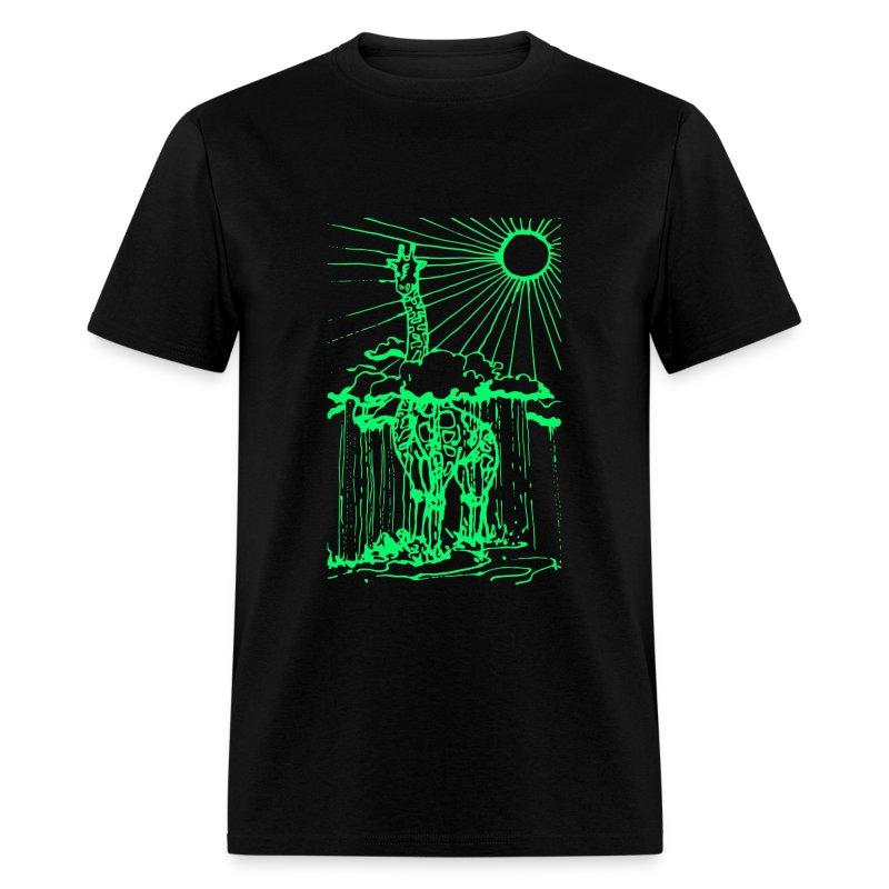 Sunshine day giraffe  - Men's T-Shirt