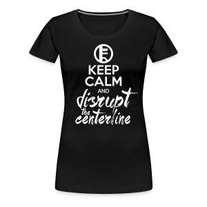 Keep Calm - Regular Fit (W) - Women's Premium T-Shirt