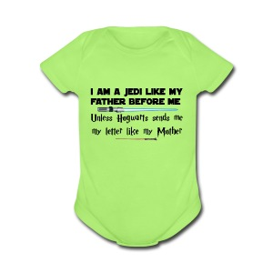 Jedi Magic - Short Sleeve Baby Bodysuit