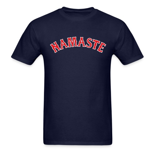 Fenway Namaste - Men's T-Shirt