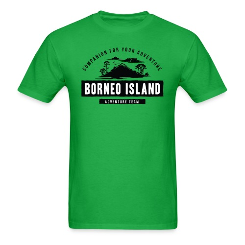 Borneo Island - Men's T-Shirt