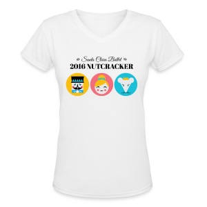 2016 Nutcracker Trio - Women's V-Neck T-Shirt