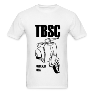 TBSC Black and White - Men's T-Shirt