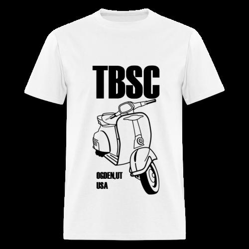 TBSC Black and White - Men's T-Shirt