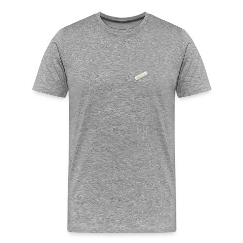 'lil xan' Premium Grey T-Shirt - Men's Premium T-Shirt