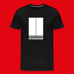 Metaschrank Classic  - Men's Premium T-Shirt