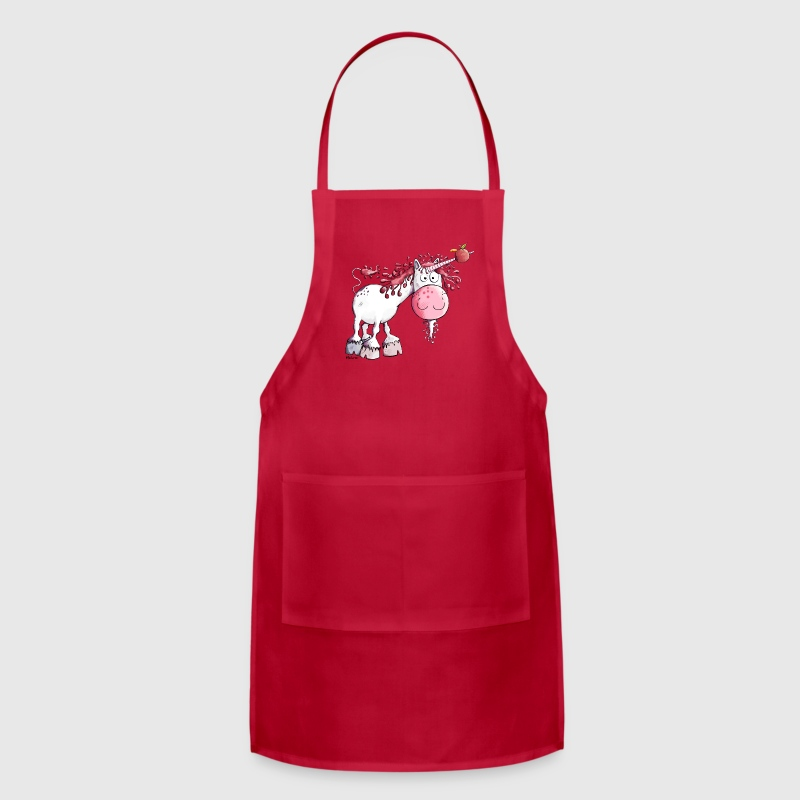 Cute Pink Unicorn Aprons - Adjustable Apron