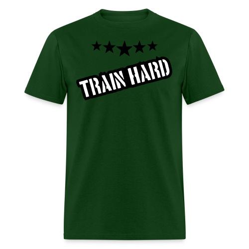 Mens Train hard tshirt - Men's T-Shirt
