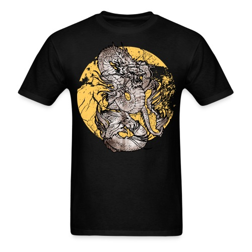 Mens dragon tshirt - Men's T-Shirt