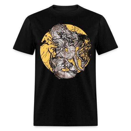 Mens dragon tshirt - Men's T-Shirt