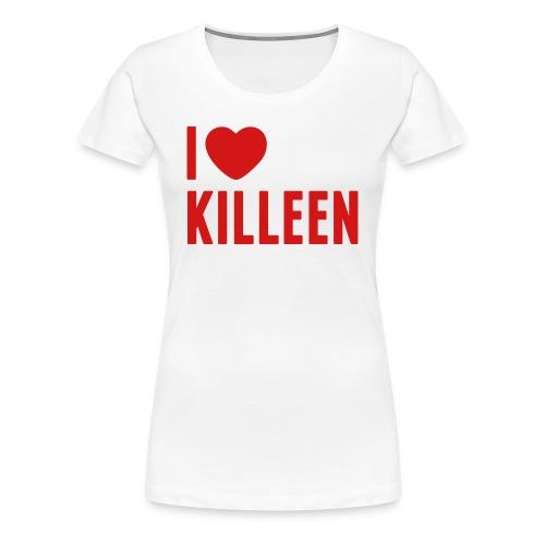 IHK - Women's Red Print (Choose shirt color!) - Women's Premium T-Shirt