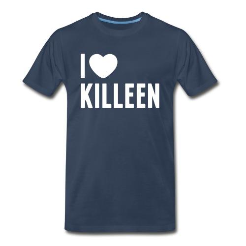 IHK - Men's White Print (Choose shirt color!) - Men's Premium T-Shirt