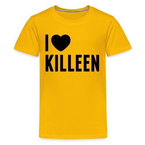 IHK - Kids Black Print (Choose shirt color!) - Kids' Premium T-Shirt