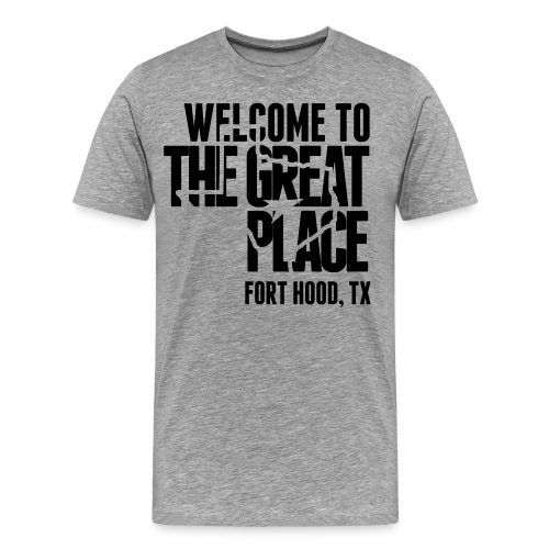 The Great Place - Men's (Choose shirt color!) - Men's Premium T-Shirt