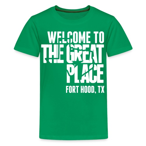 The Great Place - Kids White Print (Choose shirt color!) - Kids' Premium T-Shirt