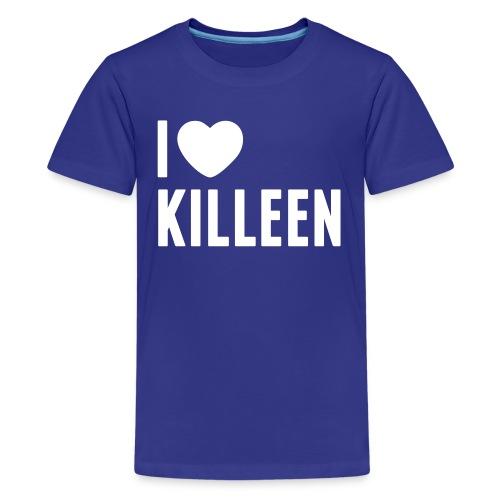 IHK - Kids White Print (Choose shirt color!) - Kids' Premium T-Shirt