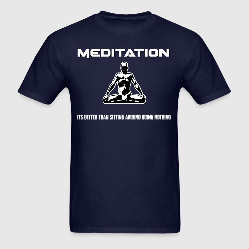 Meditation T-Shirts - Men's T-Shirt