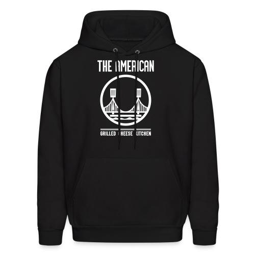 bay bridge logo hoodie - Men's Hoodie