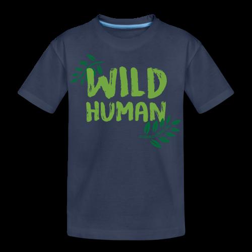 Wild Human Kids T - Kids' Premium T-Shirt