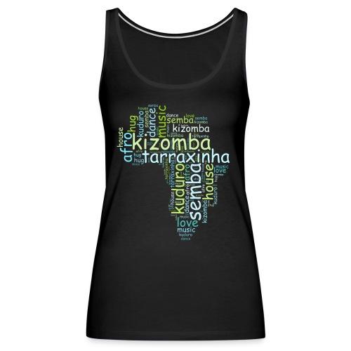 Kizomba cloud - Women's Premium Tank Top