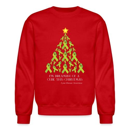 Unisex Lyme Free Christmas Crewneck Sweater - Crewneck Sweatshirt