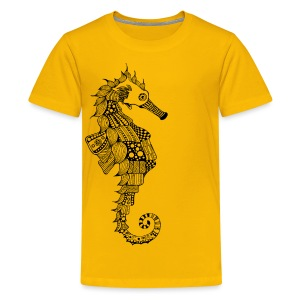 South Seas Seahorse Kids Premium T-Shirt - Kids' Premium T-Shirt