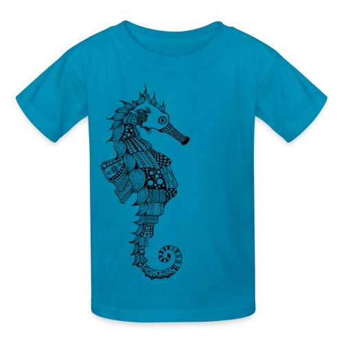 South Seas Seahorse Kids T-Shirt - Kids' T-Shirt