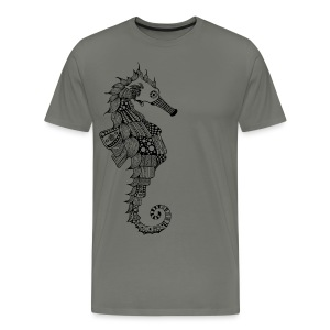 South Seas Seahorse Men's Premium T-Shirt - Men's Premium T-Shirt