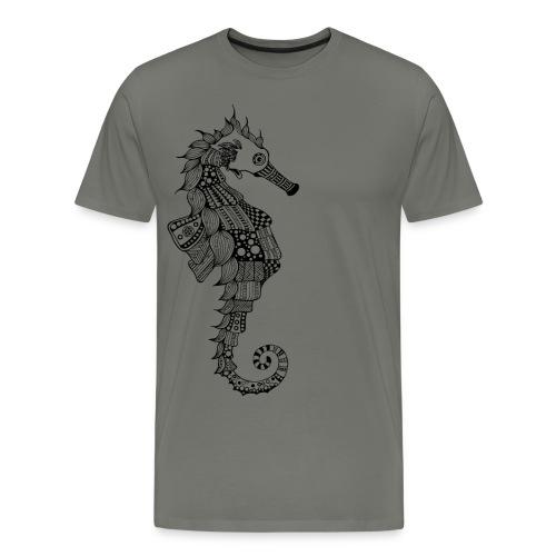 South Seas Seahorse Men's Premium T-Shirt - Men's Premium T-Shirt