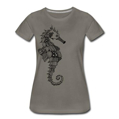 South Seas Seahorse Women's Premium T-Shirt - Women's Premium T-Shirt