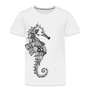 South Seas Seahorse Toddler Premium T-Shirt - Toddler Premium T-Shirt