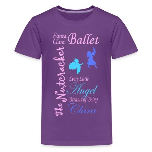 Angel to Clara - Kids' Premium T-Shirt