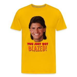Average Homeboy Big Head T-Shirt - Men's Premium T-Shirt